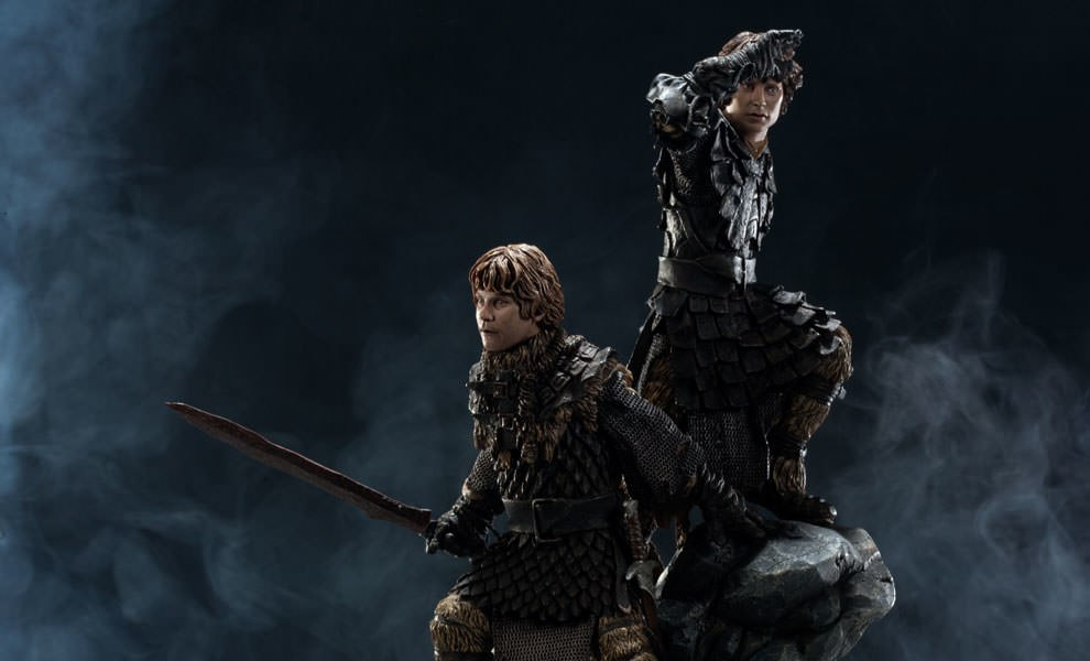 Gallery Feature Image of Frodo and Samwise Polystone Statue - Click to open image gallery