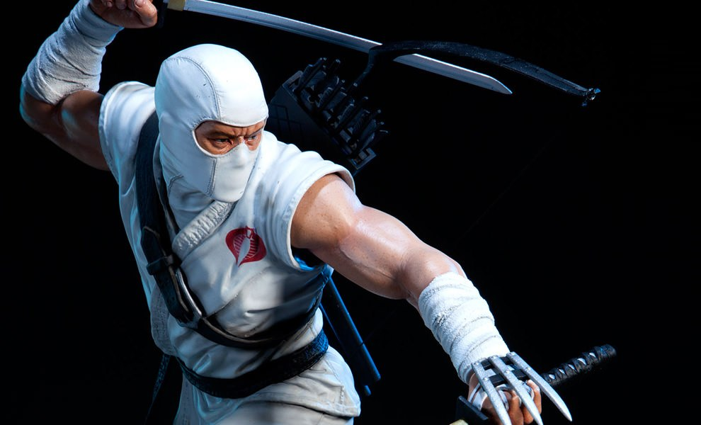 Gallery Feature Image of Storm Shadow Polystone Statue - Click to open image gallery