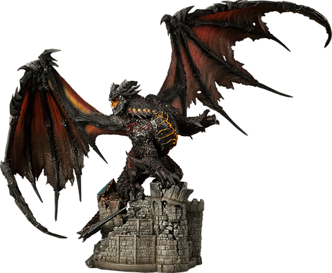 Sideshow Collectibles Deathwing - BLIZZARD EMPLOYEE ONLY Polystone Statue
