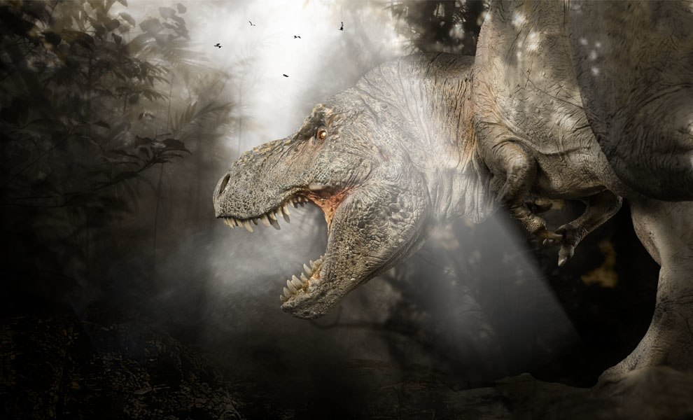 Gallery Feature Image of T-rex: The Tyrant King  Statue - Click to open image gallery