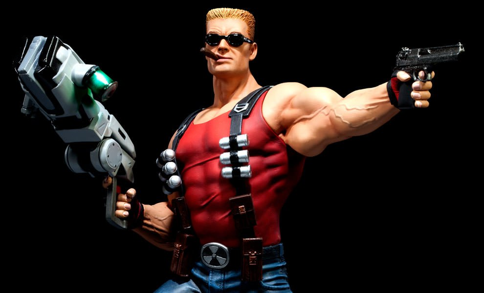 Gallery Feature Image of Duke Nukem Polystone Statue - Click to open image gallery