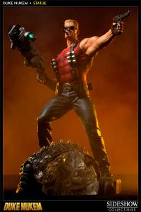 Gallery Image of Duke Nukem Polystone Statue