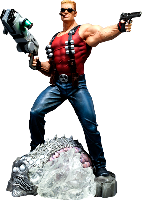 Sideshow Collectibles Duke Nukem Polystone Statue