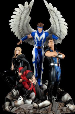 Dark X-Men Polystone Diorama