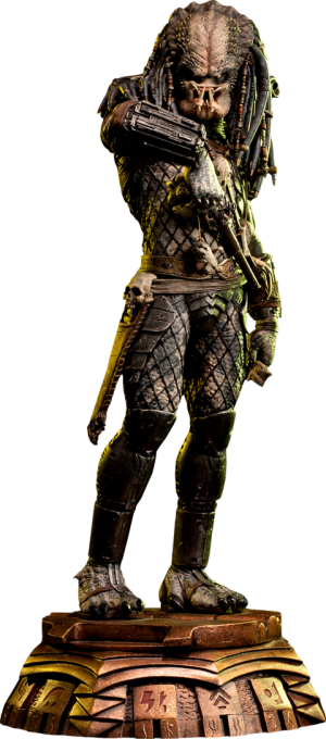 Elder Predator Statue