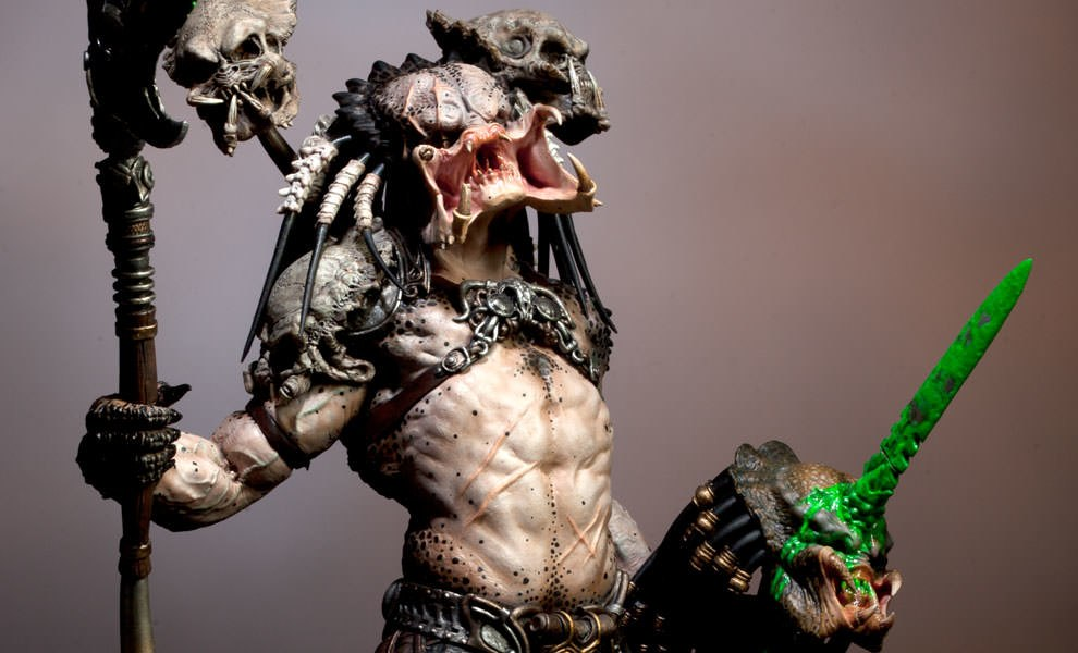Gallery Feature Image of Predator Bad Blood Statue - Click to open image gallery