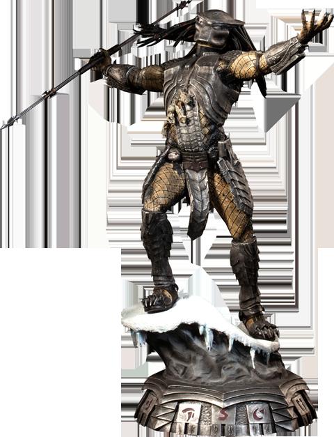 Sideshow Collectibles Scar Predator Statue
