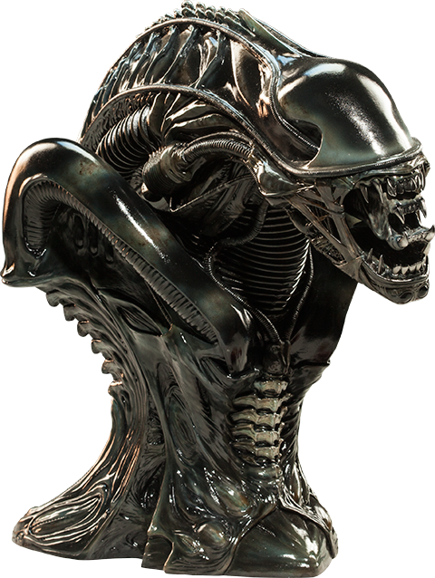 Sideshow Collectibles Alien Warrior Legendary Scale Bust