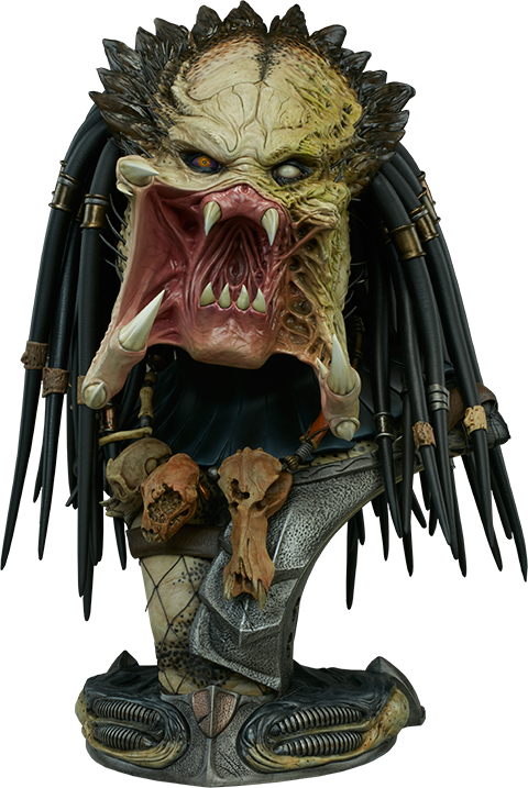 Sideshow Collectibles Wolf Predator Legendary Scale™ Bust