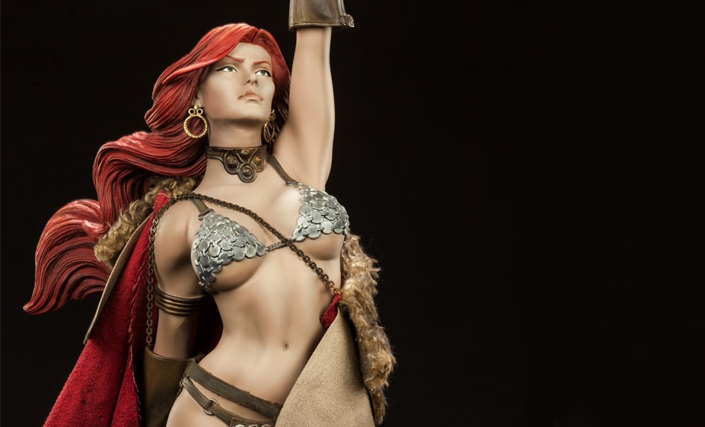 Gallery Feature Image of Red Sonja Premium Format™ Figure - Click to open image gallery