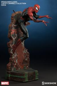 Gallery Image of Spider-Man Classic Polystone Statue