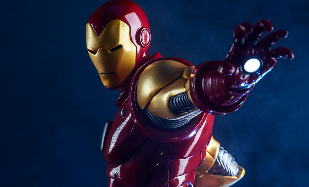 Gallery Feature Image of Iron Man Statue - Click to open image gallery