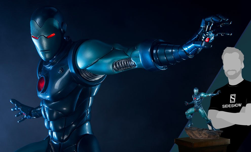 Gallery Feature Image of Iron Man Stealth Suit Statue - Click to open image gallery