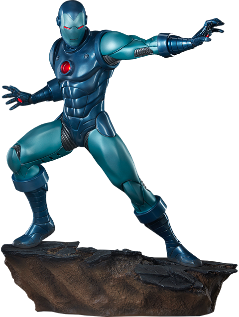 Sideshow Collectibles Iron Man Stealth Suit Statue