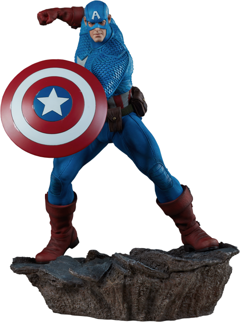 Sideshow Collectibles Captain America Statue