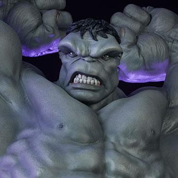 Grey Hulk Statue