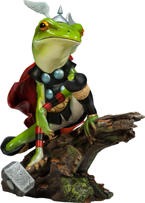 Sideshow Collectibles Thor Frog Diorama