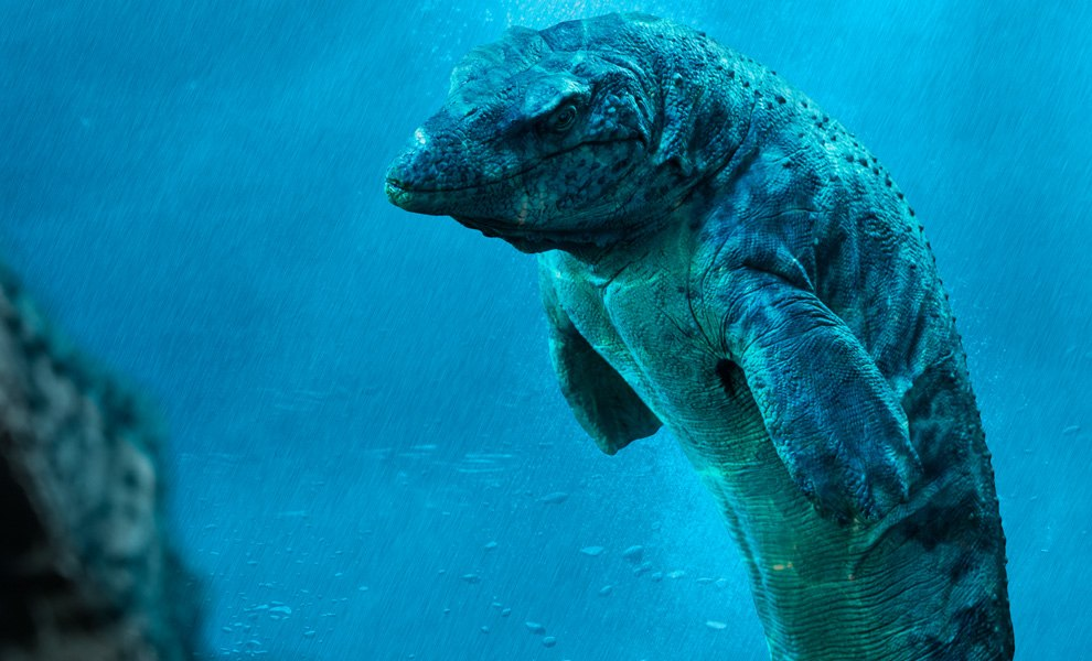 Gallery Feature Image of Mosasaur Statue - Click to open image gallery