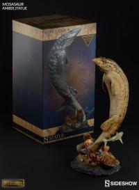 Gallery Image of Mosasaur Amber Statue