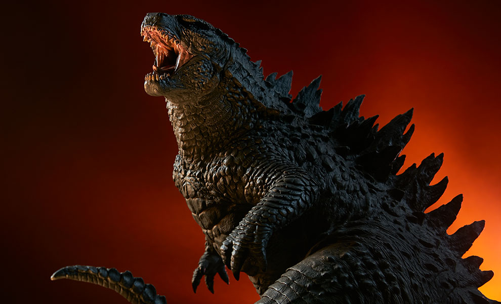 Gallery Feature Image of Godzilla Statue - Click to open image gallery