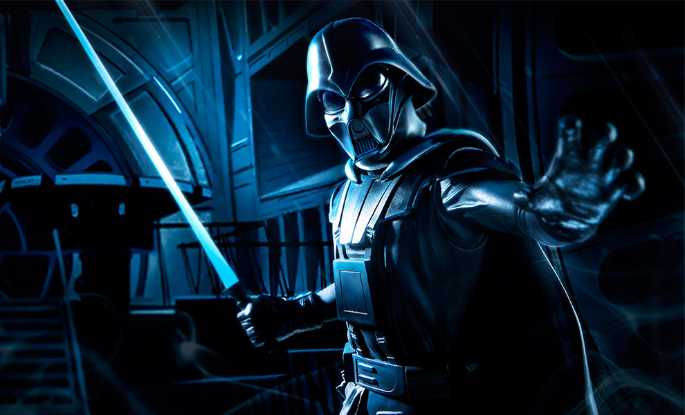 Gallery Feature Image of Ralph McQuarrie Darth Vader  Statue - Click to open image gallery
