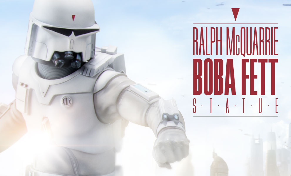 Gallery Feature Image of Ralph McQuarrie Boba Fett Statue - Click to open image gallery