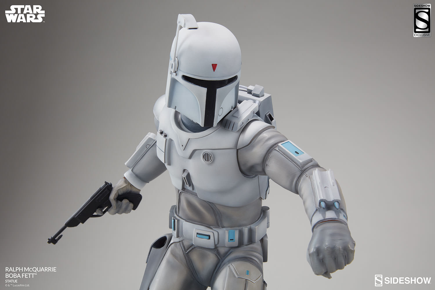 Star Wars Ralph Mcquarrie Boba Fett Statue By Sideshow Colle