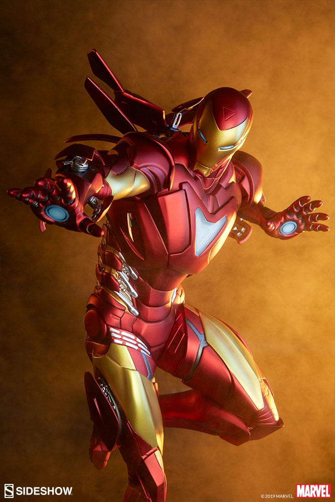 Marvel Iron Man Extremis Mark Ii Statue By Sideshow Collecti