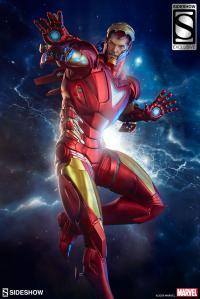 Gallery Image of Iron Man Extremis Mark II Statue