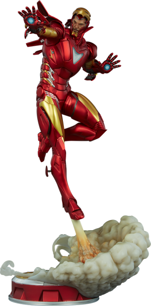 Iron Man Extremis Mark II Statue