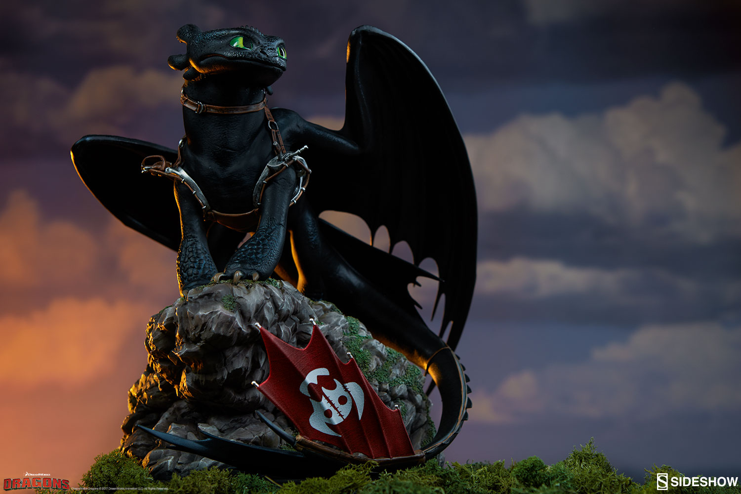 How To Train Your Dragon Toothless Statue Sideshow Collectibles