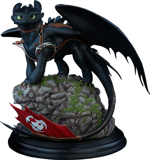 Sideshow Collectibles Toothless Statue