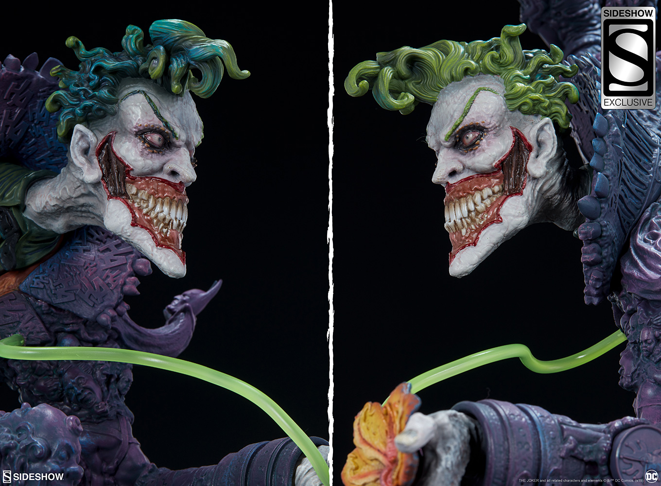 Dc Comics The Joker Statue By Sideshow Collectibles Sideshow
