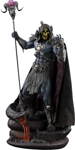 Skeletor Statue