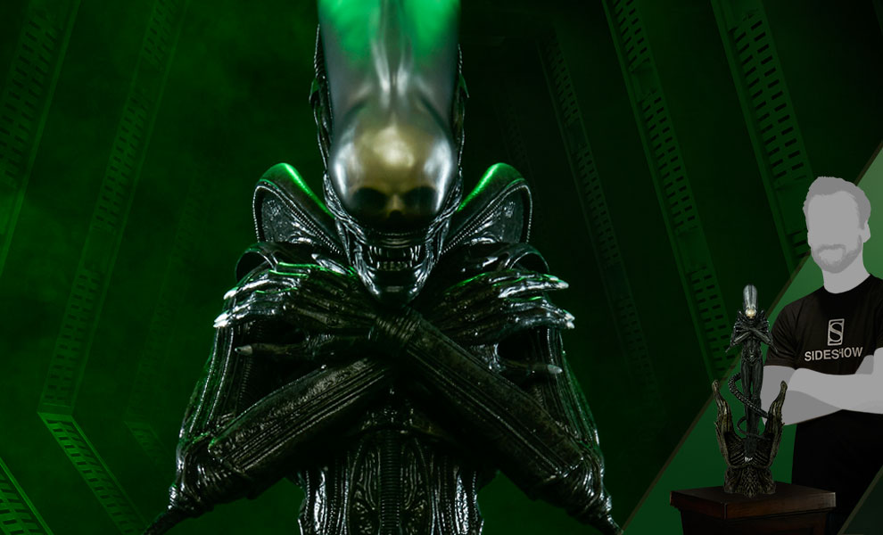Gallery Feature Image of Alien Statue - Click to open image gallery