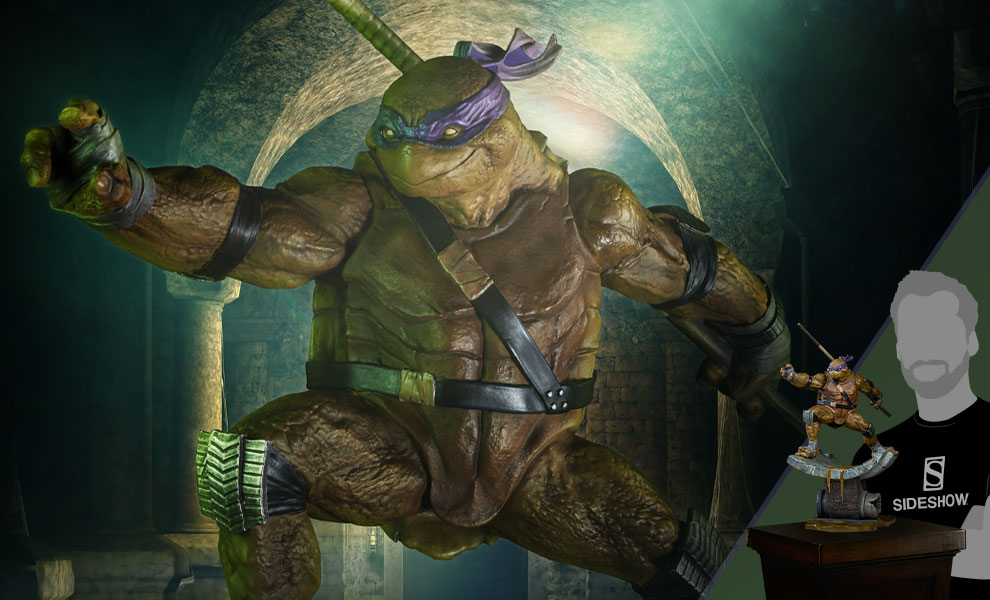 Donatello Statue - Click to open image gallery