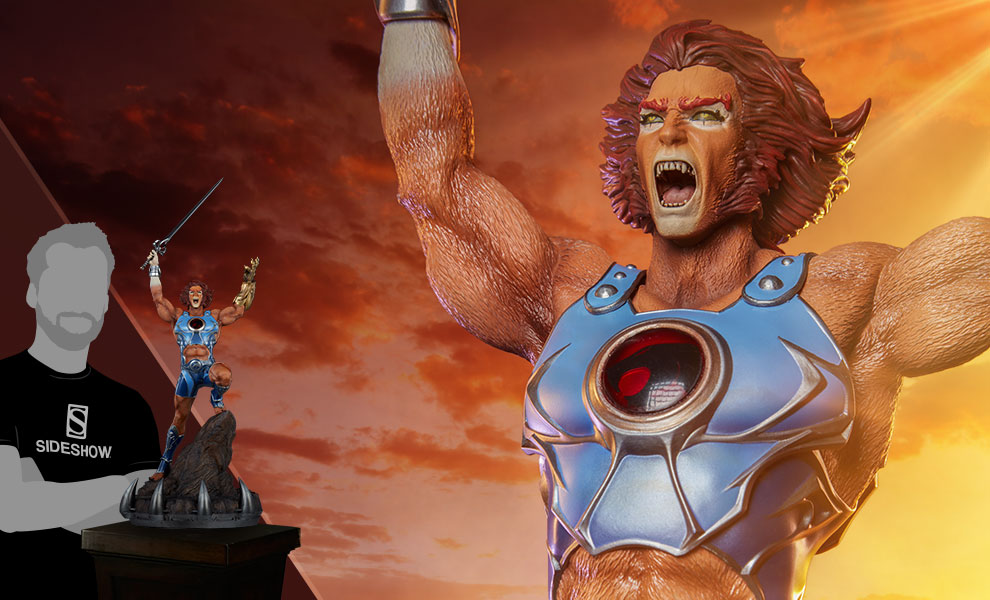 Gallery Feature Image of Lion-O Statue - Click to open image gallery