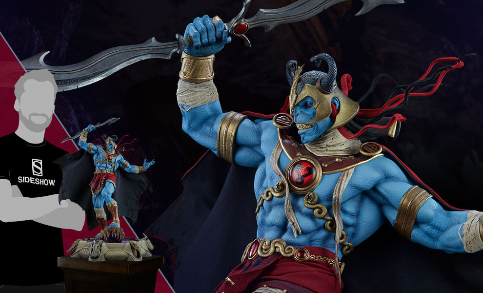 Gallery Feature Image of Mumm-Ra Statue - Click to open image gallery