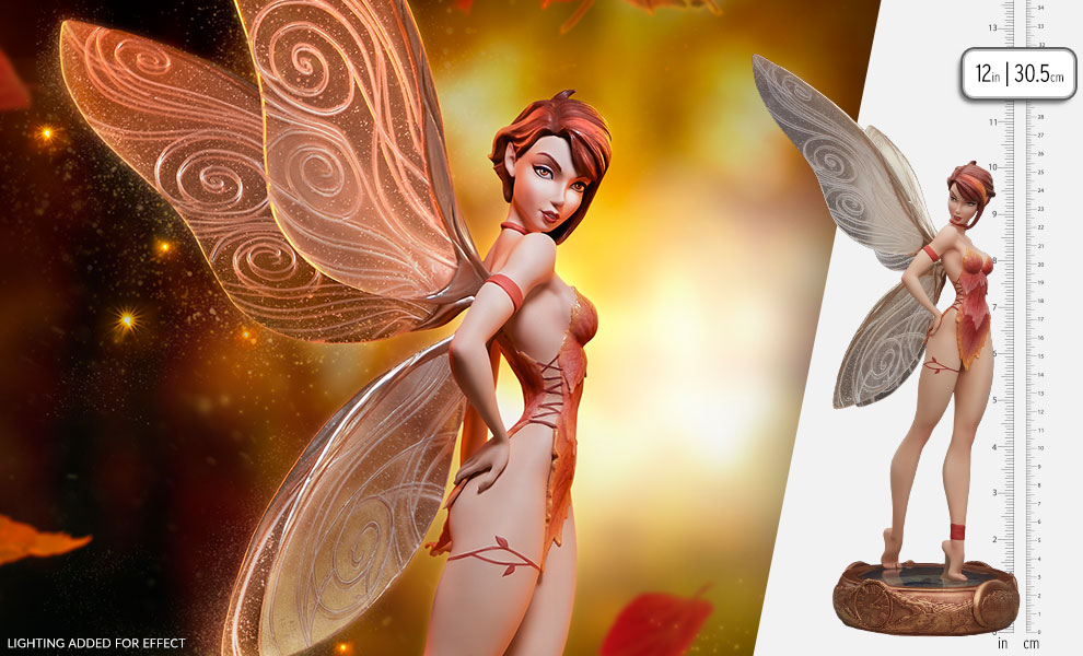 Gallery Feature Image of Tinkerbell (Fall Variant) Statue - Click to open image gallery