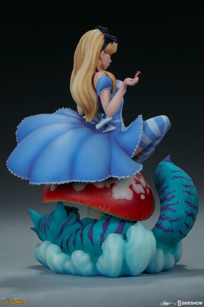 J Scott Campbell Alice in Wonderland Statue by Sideshow ...