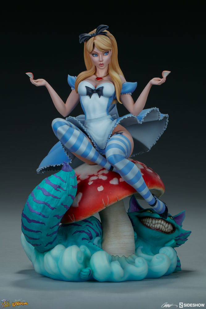 3d169b4237 J Scott Campbell Alice in Wonderland Statue by Sideshow