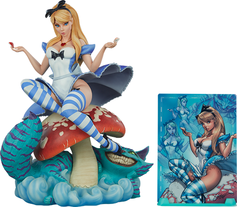 Sideshow Collectibles Alice in Wonderland Statue