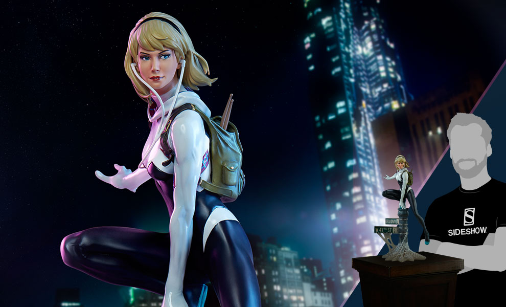 Gallery Feature Image of Spider-Gwen Statue - Click to open image gallery