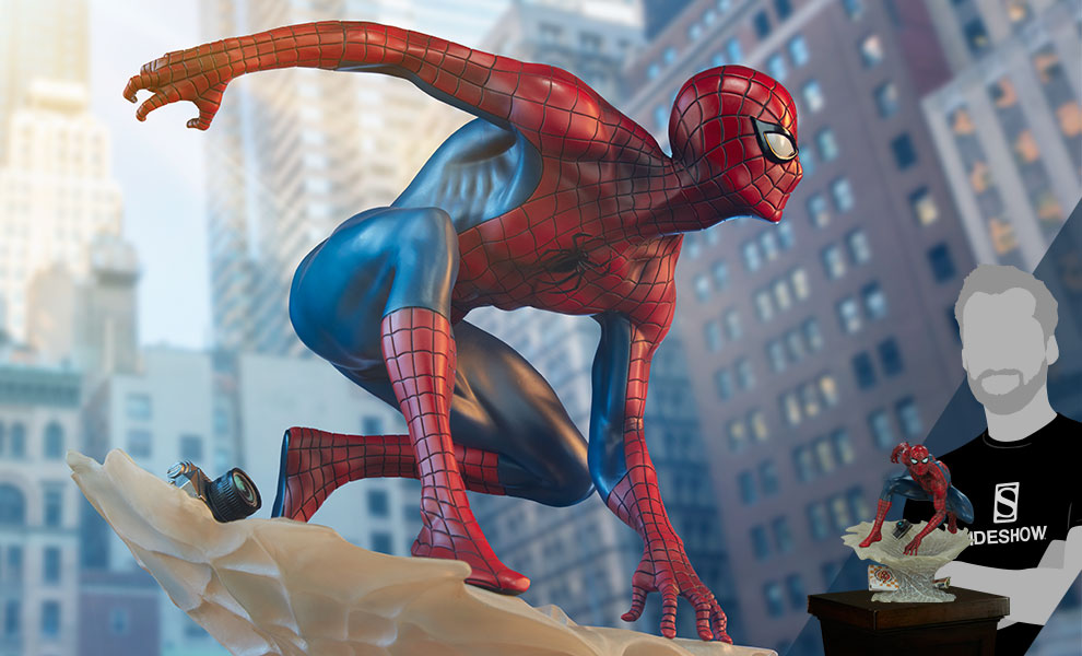 Gallery Feature Image of Spider-Man Statue - Click to open image gallery