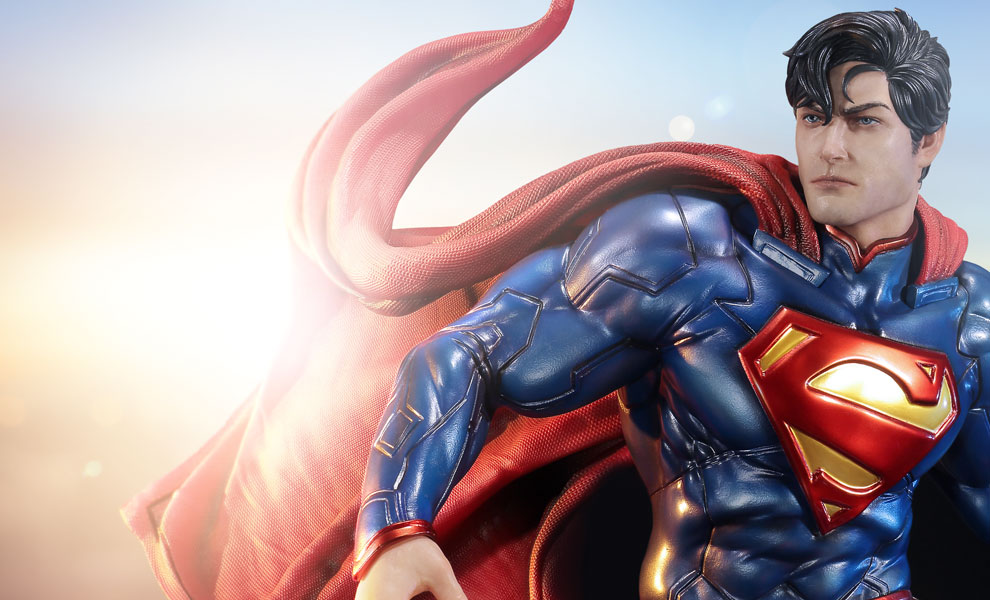 Gallery Feature Image of Superman Polystone Statue - Click to open image gallery