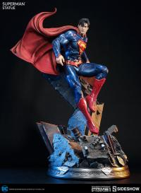 Gallery Image of Superman Polystone Statue