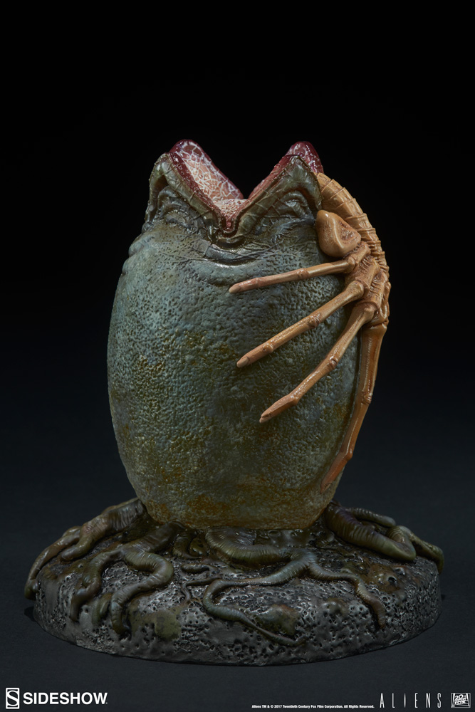 The Best Sideshow 200526 Petal-like 5 Inches Statue Alien Egg New Aliens, Avp Science Fiction & Horror