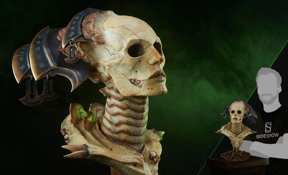 Gallery Feature Image of Xiall The Resolve of Bone Legendary Scale™ Bust - Click to open image gallery
