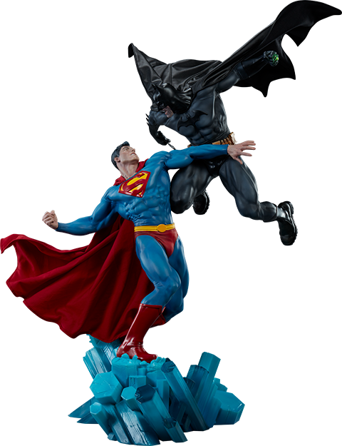 Sideshow Collectibles Batman vs Superman Diorama