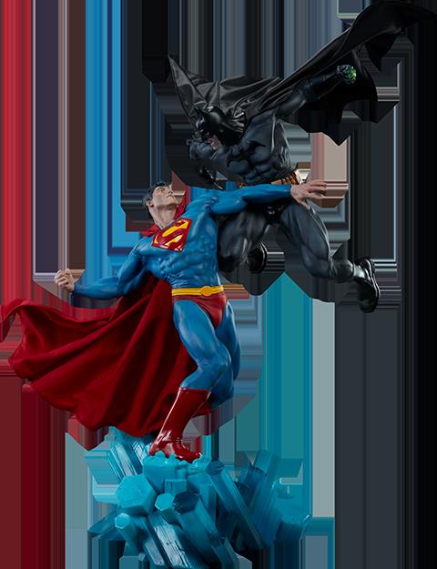Sideshow Collectibles Batman vs Superman Diorama